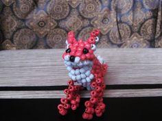 Beads fox beading ideas beads animals beading designs interesting gifts beads…
