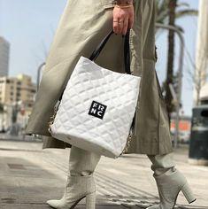 𝕀𝕟 𝕝𝕠𝕧𝕖 𝕨𝕚𝕥𝕙 𝕨𝕙𝕚𝕥𝕖! 🤍🤍 ___________________________ White Handbag by Frnc 👜 . . #papanikolaoushoes #frnc #frncbags #whitehandbag #ss21collection White Handbag, Messenger Bag, Satchel, Shoulder Bag, Bags, Fashion, Handbags, Moda, Fashion Styles