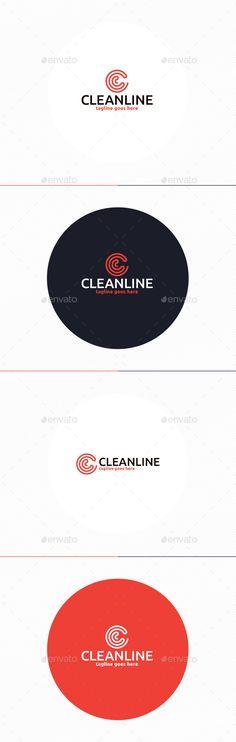 Clean Line Logo • Letter C - Letters Logo Templates