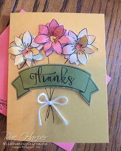 Paper Pumpkin October 2015 Blissful Bouquet Alternative Card