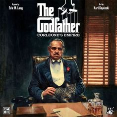 Buy The Godfather: Corleones Empire at Mighty Ape NZ. Based on the classic Francis Ford Coppola film, The Godfather: The Board Game plunges players into the world of crime, corruption, and the mafia in Ne. Map Games, Board Games, Delaware, The Godfather Game, The Godfather Wallpaper, Mafia Crime, Don Corleone, Empire, Mafia Families