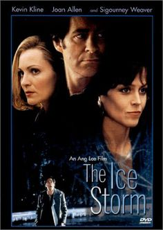 """The Ice Storm""~ Kevin Kline, Joan Allen, Henry Czerny, Sigourney Weaver, Tobey Maguire, Katie Holmes, Elijah Wood, Christina Ricci, Allison Janey  (1997)"