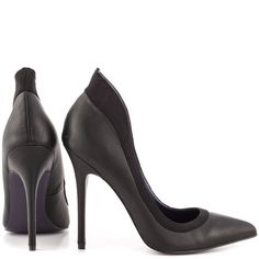 Dominate the fashion scene in the unstoppable Domina pump by London Trash.