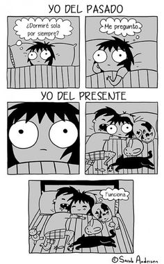 Anybody who's familiar with the comics of Sarah Andersen will know how perfectly they summarize the daily struggles of modern life, especially when it comes to Sarah Anderson Comics, Sara Anderson, Super Funny, Funny Cute, Hilarious, Saras Scribbles, The Awkward Yeti, Fille Gangsta, 4 Panel Life