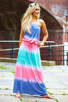 Layla Tie Dye Maxi Dress