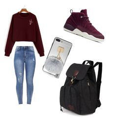 """""""Untitled #78"""" by aniyah100 on Polyvore featuring NIKE"""