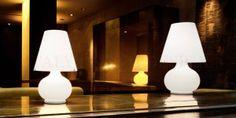 Paralume vetro soffiato di Murano