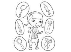 Disney Junior | Print and Colour - Doc McStuffins