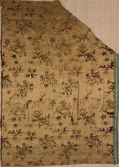 Textile fragment Unknown artist, Italian Textile fragment, Late 16th century Silk 06.132