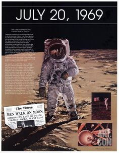 Ten Days That Shook the Nation - The Moon Landing, I was allowed to stay late to see this and I was 14!