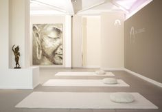 Jogamatten im Raum - YOGA-Studio | Umgestaltung und Vergrößerung des YOGA-Studios Angelika Fraikin