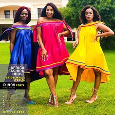 Xhosa Attire, African Attire, African Dress, African Clothes, Tsonga Traditional Dresses, Traditional Wedding Dresses, Africa Fashion House, Pedi Traditional Attire, Traditional African Clothing