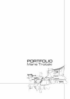 Portfolio  My architectural portfolio