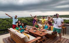 How about wildlife spotting on the rooftop bar of #Cinnamonhotel #Wildyala in Sri lanka?