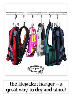 Life Jacket Hanger Dryer (Set of 5 Hangers) Jacket Hanger, Coat Hanger, Clothes Lines, Sailing Jacket, Life Jackets, Boat Storage, Lucerne, Lake Life, Laundry Rooms