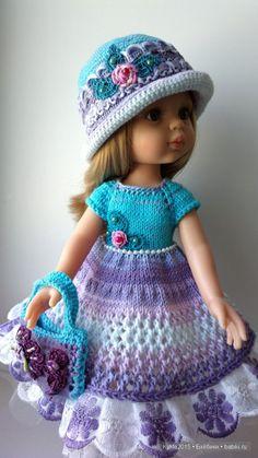 """А на душе цветет весна. Наряд для барышни """"Розочка в весенней дымке"""" / Одежда и обувь для кукол - своими руками и не только / Бэйбики. Куклы фото. Одежда для кукол"""