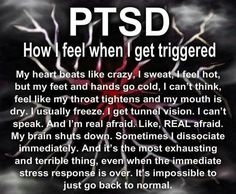 PTSD AWARENESS ❤