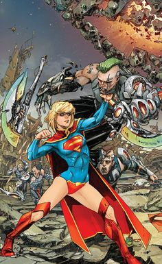 Supergirl ~ Kenneth Rocafort