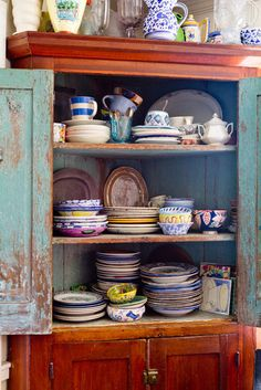 Eclectic Farm House eclectic kitchen