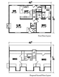 Carlisle AL Floorplan of American Lifestyle Collection - Modular Home - All American Homes