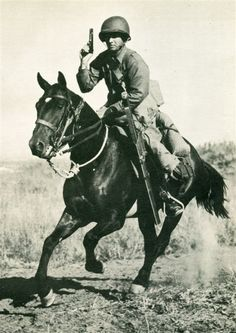 During WW2 the US continued fielding horse cavalry units and practice training.The last horse Army cavalry charge  took place against Japanese forces during fighting in Bataan in the village of Morong on 16 Jan 1942, by the 26th Cavalry Regiment of the Philippine Scouts.The 10th Mountain Cavalry Reconnaissance Troop of the 10th Mountain Division,while not designated as U.S. Cavalry, conducted the last horse-mounted charge of any Army organization whilst engaged in Austria in 1945.