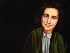 ArtStation - Anne Frank, Pepi Silva, #digitalpainting #adobe #photoshop #Anne frank