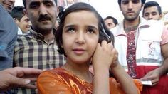 Hawjin, from #Kurdistan: I do not have any money but I will give my earrings to a child #War
