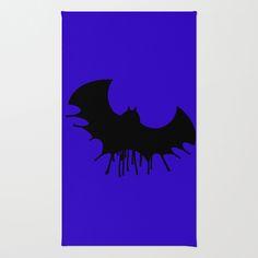 Bat Area & Throw Rug