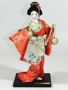 Kyugetsu Doll - Japan Japanese Geisha