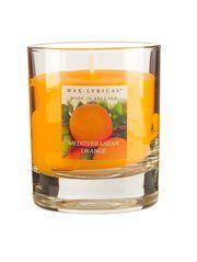 Wax Lyrical Glass Candle - Mediterranean Orange