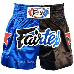 19a02c4ae2 Fairtex Satin Muay Thai Shorts Classic Blue-black Muay Thai, Swim Trunks,  Swimsuit