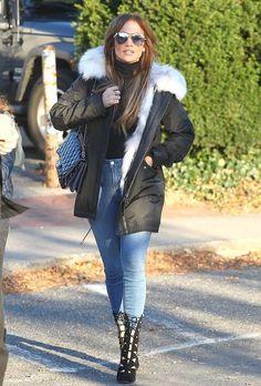 Jennifer Lopez out in Hamptons