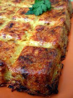 POTATO & ONION CAKE [pourquoisepriver] [rosti, roschti, roesti, paillasson, pommes darphin, latke, potato cake, potato pancake, kartoffelpuffer, gamjajeon]