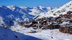 Val-Thorens, la plus haute station d'Europe, avec ses 2300 mètres d'altitude.