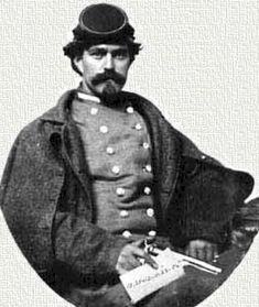 Henry Thomas Harrison, Confederate secret agent famous for informing Lee and Longstreet about Union movements before Gettysburg.