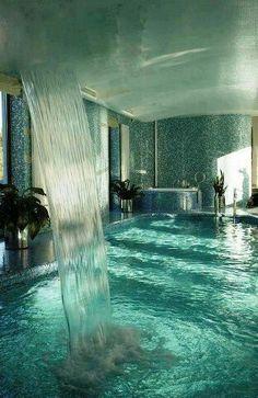 Indoor pool..