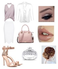 """Outfits"" by meow-meow02 ❤ liked on Polyvore featuring Boohoo, Alexander McQueen, Miss Selfridge, Gianvito Rossi and Kobelli"