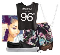 """""""96"""" by miss-teezy ❤ liked on Polyvore featuring Lucy Paris, Truly Madly Deeply, Vans and Gorjana"""