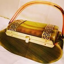Image result for lucite handbags