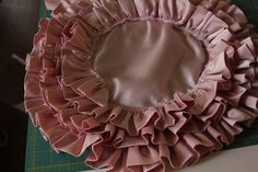 So…I love a ruffle. It's not exactly breaking news. Ruffles are just – fun! In spiral form, they make a big impact. Pillows, umbrellas, fancy dress accents. Here's the how-to: Grab a good chunk of fabric and cut strips selvage to selvage twice the width (plus seam allowance) you want your ruffles. I cut 4...Read More »