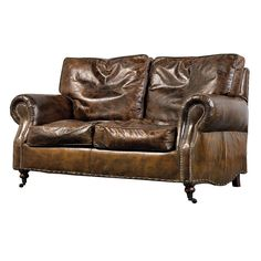 Vintage Leather 2 Or 3 Seater Sofas   Sweetpea U0026 Willow London