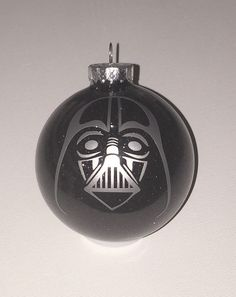 """Cute idea for glass ornament ans etching solution. """"That's no moon ..."""