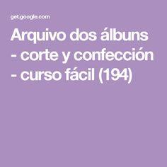 Arquivo dos álbuns - corte y confección - curso fácil (194)