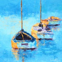 Leslie Saeta Fine Art - Fresh and Colorful Paintings with a Palette Knife