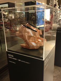 Zaha Hadid Shoes Design (side view) at level - Dubai Mall