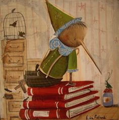 Lucia Rafanelli - children's book illustrations, paintings & interior decorations