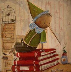 Lucia Rafanelli - children's book illustrations, paintings & interior decorations