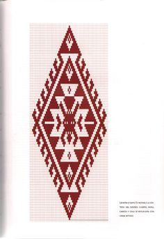TELAR MAPUCHE.pdf Loom Patterns, Cross Stitch Patterns, Tablet Weaving, Crochet Art, Textiles, Diy Tutorial, Aztec, Tapestry, Elsa
