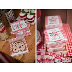 Pizzeria Pizza Party Printable Pizza Box Favor Box Template