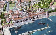 Palácio de Boucoleon - Constantinopla